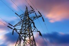 Torre di energia Fotografia Stock