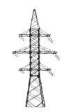 Torre di energia elettrica. Fotografie Stock Libere da Diritti