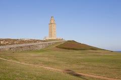 Torre di Ercole Fotografie Stock