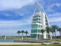 Torre di esplorazione, Cape Canaveral, Florida fotografie stock
