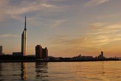 Torre di Fukuoka Fotografia Stock
