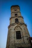 Torre di fuoco a Grodno, Bielorussia fotografie stock libere da diritti