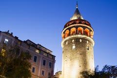 Torre di Galata, Costantinopoli Fotografia Stock Libera da Diritti