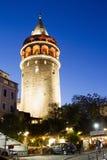 Torre di Galata, Costantinopoli Immagini Stock Libere da Diritti