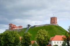 Torre di Gediminas Fotografia Stock Libera da Diritti