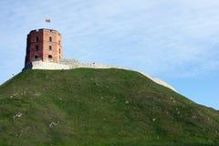 Torre di Gediminas, Vilnius, Lituania Immagine Stock