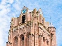 Torre di grande chiesa o John Baptist Church nel bij Duu di Wijk Fotografie Stock Libere da Diritti