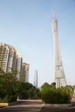 Torre di Guangzhou TV Immagine Stock