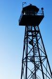 Torre di guardia di Alcatraz Fotografie Stock