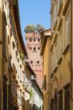 Torre di Guinigi a Lucca, Italia Fotografia Stock Libera da Diritti