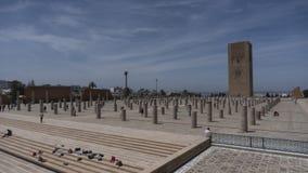 Torre di Hassan II a Rabat, Marocco, Immagini Stock Libere da Diritti