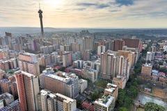 Torre di Hillbrow - Johannesburg, Sudafrica Fotografie Stock Libere da Diritti