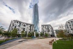 Torre di Iberdrola a Bilbao Immagini Stock Libere da Diritti