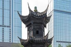 Torre di incenso a Taikooli - Chengdu Immagine Stock