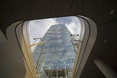 Torre di Isozaki a Citylife, a Milano Fotografia Stock