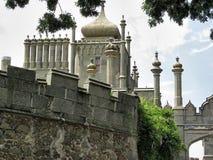 Torre di Jalta del palazzo di Vorontsov Fotografie Stock Libere da Diritti