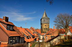 Torre di Kehrwieder, Hildesheim Fotografie Stock