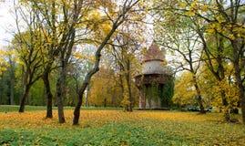 Torre di Kiiu in autunno Fotografie Stock