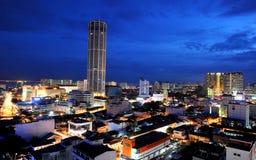 Torre di Komtar Fotografie Stock