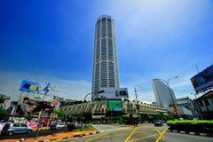 Torre di Komtar o Menara Komtar Immagine Stock