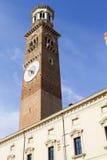 Torre di Lamberti - Verona Fotografia Stock Libera da Diritti