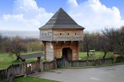 Torre di legno Immagini Stock