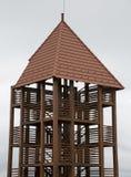 Torre di legno del punto di vista Fotografia Stock