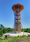Torre di legno dell'allerta Immagine Stock Libera da Diritti