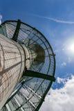 Torre di Lokout con una scala a chiocciola Fotografia Stock