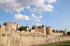 Torre di Londra - attrazione turistica britannica famosa a Londra, Regno Unito Immagini Stock