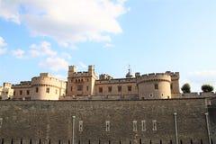 Torre di Londra - attrazione turistica famosa Fotografie Stock Libere da Diritti