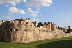 Torre di Londra - icona della città e dell'attrazione turistica Fotografie Stock