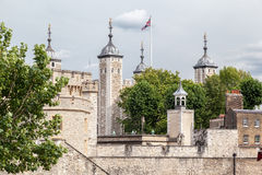 Torre di Londra Inghilterra Fotografie Stock Libere da Diritti