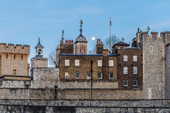 Torre di Londra nella sera Fotografie Stock