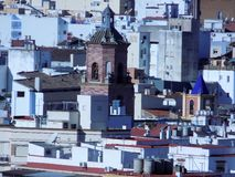 torre di Los-Martires Malaga fotografie stock