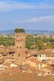 Torre di Lucca Fotografie Stock Libere da Diritti