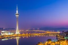 Torre di Macao Fotografia Stock