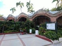 Torre di Martello ad ovest al club del giardino di Key West fotografia stock libera da diritti