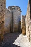 Torre di Matilde di Canossa. Tarquinia. Il Lazio. L'Italia. Fotografia Stock