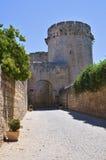 Torre di Matilde di Canossa. Tarquinia. Il Lazio. L'Italia. Fotografie Stock Libere da Diritti