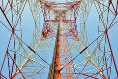 Torre di microonda Immagini Stock