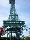 Torre di Mini Eiffel Fotografia Stock Libera da Diritti