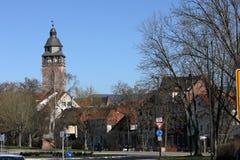 Torre di Nikolai di Eschwege in Germania immagine stock libera da diritti