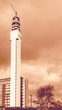 Torre di nord-ovest Birmingham Inghilterra di BT Fotografie Stock Libere da Diritti