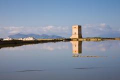 Torre di Nubia, Sicilia Fotos de archivo