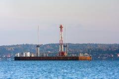 torre di olio Fotografie Stock