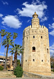 Torre di oro, Torre del Oro, Sevilla Fotografia Stock Libera da Diritti