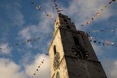 Torre di orologio Fotografie Stock Libere da Diritti