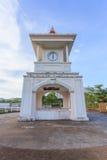 torre di orologio al parco nella città di Phuket, Tailandia immagini stock libere da diritti