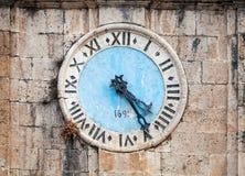 Torre di orologio antica Fotografia Stock Libera da Diritti